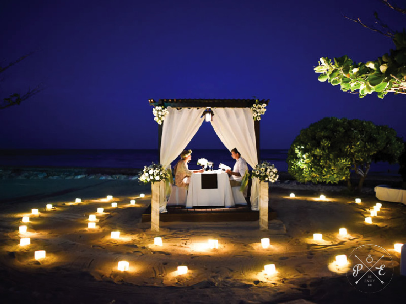 proposal envy a romantic private beach bali proposal