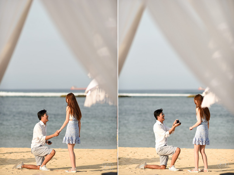 Proposal Envy Bali Romantic Marriage Proposal