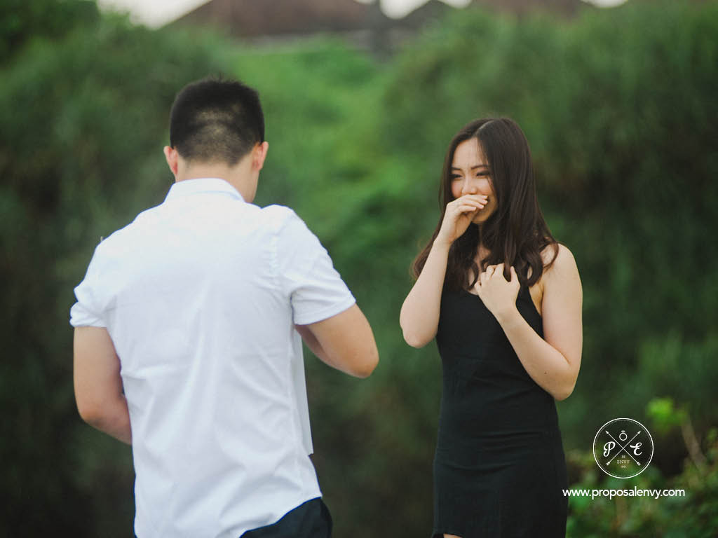 proposing in bali