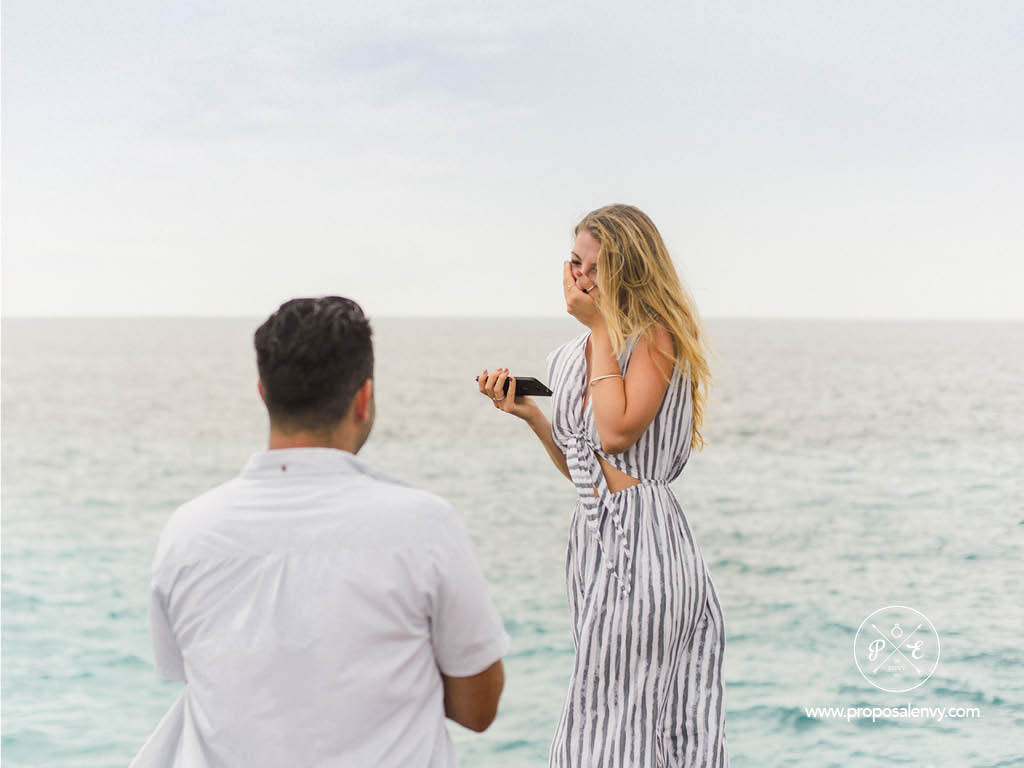 How to propose in Bali