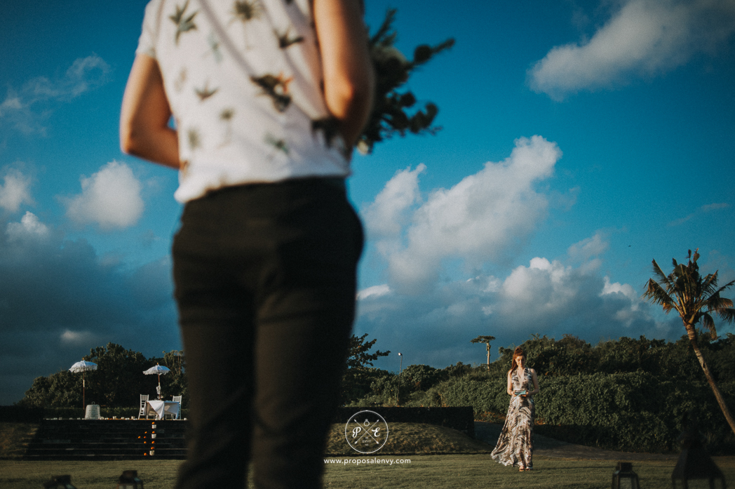 bali surprise proposal